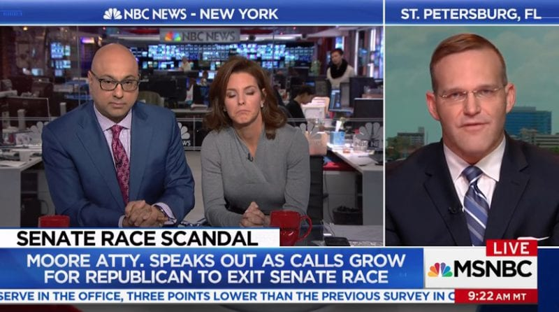 Roy Moores Lawyer Goes All Racist On MSNBCs Ali Velshi VIDEO