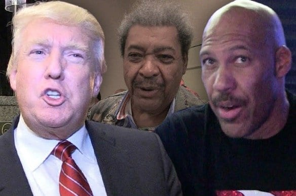 Trump LaVar Ball Is a 'Poor Man's Don King'