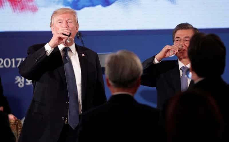 Trump To North Korea 'Come To The Table' Over Nuclear Issue