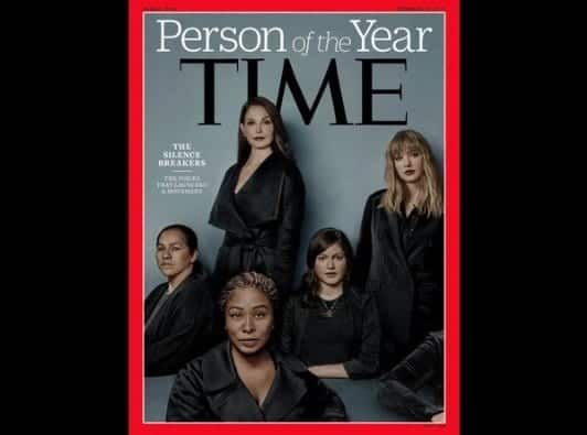 Time Names 'Silence Breakers' 2017 Person Of The Year