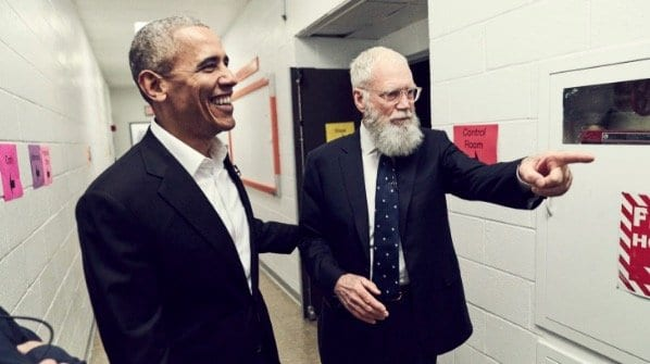 Obama Will Be Letterman's First Guest on New Netflix Show