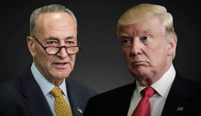 Schumer Retracts Offer On Funding Trump's Border Wall