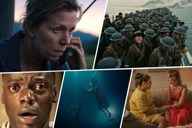 The Shape Of Water Leads 2018 Oscar Nominations