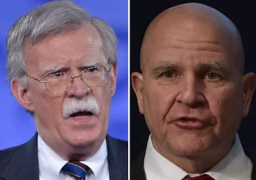 National Security Adviser H.R. McMaster Out John Bolton To Replace Him 1