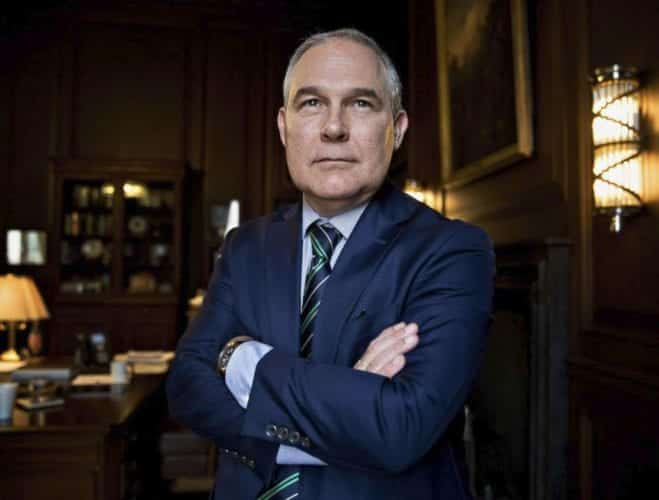 Pruitt Paid Lobbyist 50 A Night For Capitol Hill Apartment
