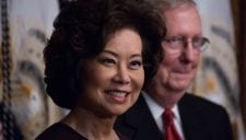 elaine chao mitch turtle mconnell