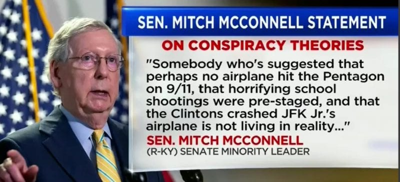 mitch mcconnell conspiracy theories cancer marjorie taylor greene