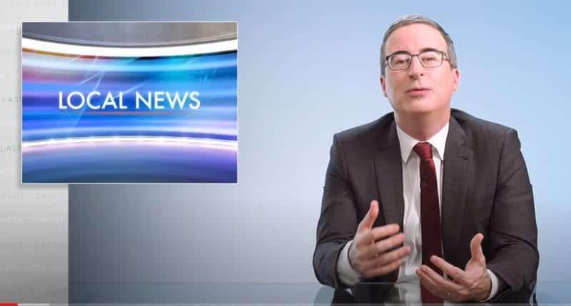 john oliver local news