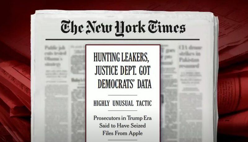 trump doj dem data