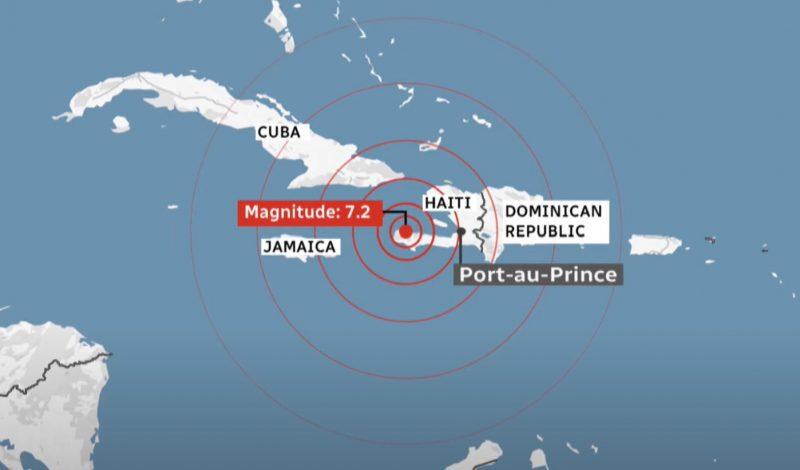 haiti 7.2 earthquake