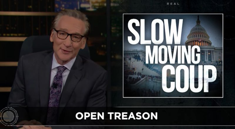 slow moving coup maher